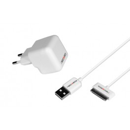 KIT CHARGEUR SECTEUR iPod/iPhone/iPad